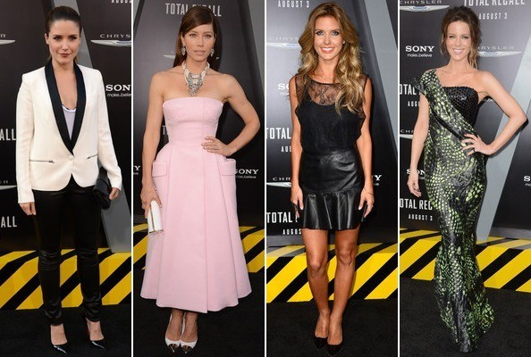 Best & Worst Dressed - Total Recall Premiere