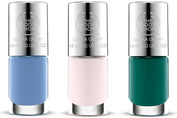 The Body Shop Launches a Vegetarian Nail Polish Collection