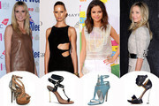 Stars Sizzle in Summer Sandals