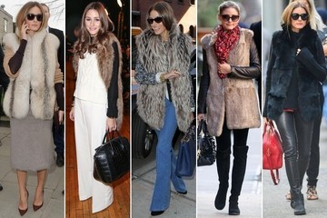 Simple Styling Trick to Try: Invest in a Few Fabulous Fur Vests