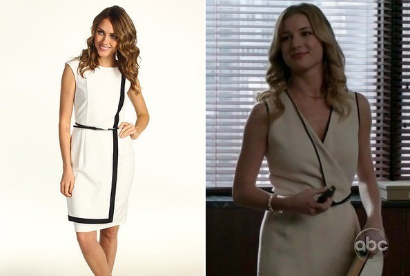 Emily VanCamp's White Dress on 'Revenge'