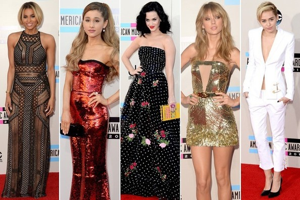 The Best Dressed at the AMAs 2013