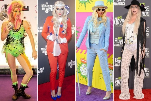 Ke$ha's Most Baffling Style Moments