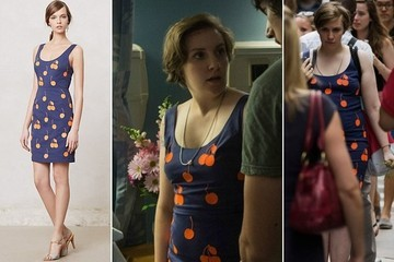 Lena Dunham's Cherry Print Dress on 'Girls'