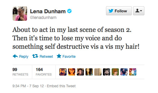 Lena Dunham Cut Her Hair! Do You Prefer it Long or Short? Vote Here.