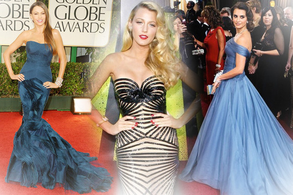 The Most Gorgeous Red Carpet Gowns of 2012