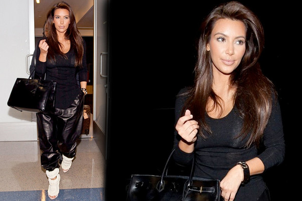 Love it or Loathe it: Kim Kardashian's Leather Harem Pants