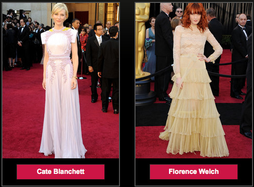 Readers Choice: Natalie Portman Oscars Dress Ranks #4 on Best Dressed List