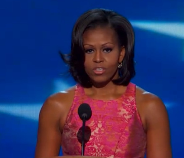 Michelle Obama, DNC Dress and Speech