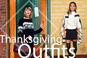 What to Wear on Thanksgiving: Celebrity-Inspired Outfit Ideas