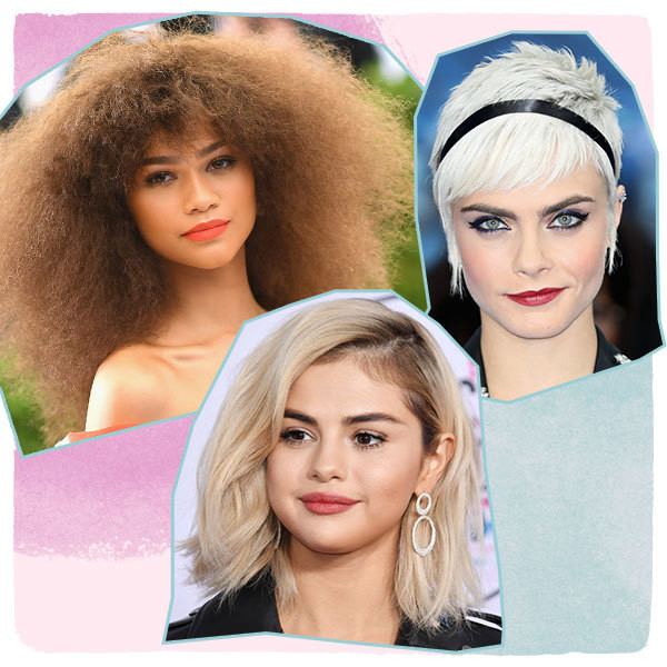 The Most Daring Celeb Hair and Beauty Looks of 2017