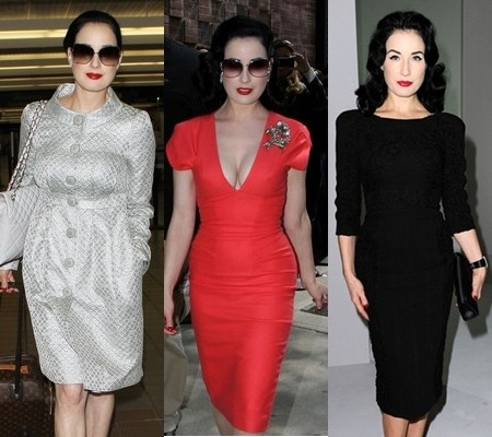 Picture - Dress Like Dita Von Teese