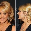 Carrie Underwood's Looped Side-Pony