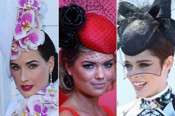 The Most Fabulous Hats at Melbourne Cup Day