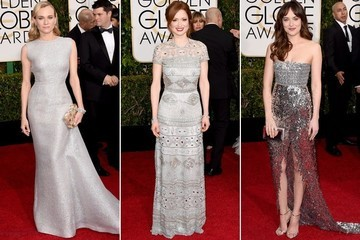 Trending Now: Silver Stunners at the Golden Globes
