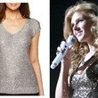 Connie Britton's Sequin Cap Sleeve Top on 'Nashville'