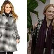 Claire Coffee's Houndstooth Coat on 'Holly's Holiday'