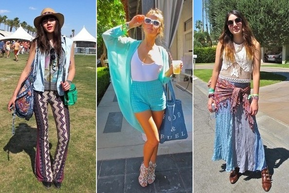 The Best Street Style at Coachella 2013