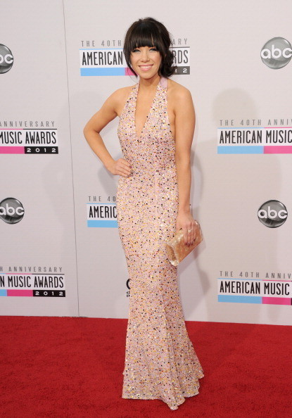 Carly Rae Jepsen at the 2012 AMAs