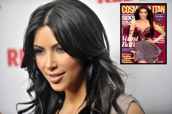 Kim Kardashian Upset About 'Cosmopolitan' Turkey Cover
