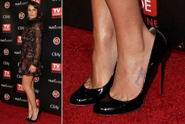 Lea Michele at TV Guide's 2010 Hot List Party