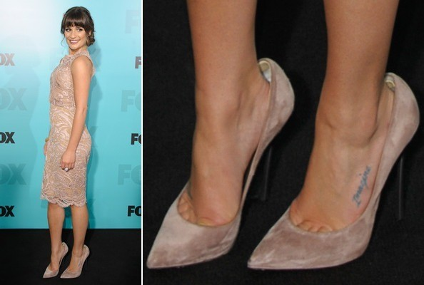 Lea Michele at the Fox 2012 Programming Party