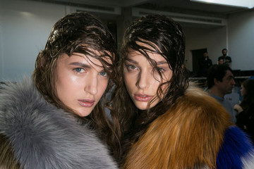 The Messier the Better: Six Disheveled 'Dos From Milan Fashion Week
