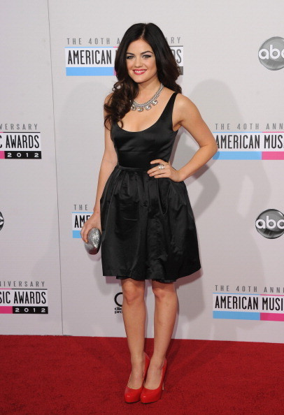 Lucy Hale at the 2012 AMAs