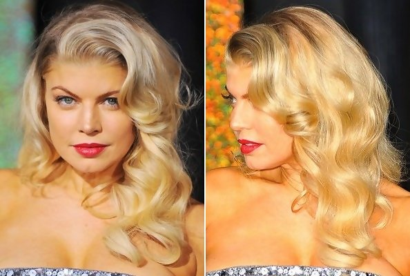 how to curl your hair 50s style fergie s pin up curls do it yourself how to get 3135 | lMrh4L8F3Tjx