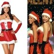 The Sexy Santa Costumes in 'Mean Girls'