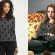 Stefania Owen's Skull Sweater on 'The Carrie Diaries'