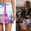 Jes Macallan's Eiffel Tower Mini Skirt on 'Mistresses'