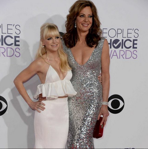 Anna Faris and Allison Janney Are All Smiles