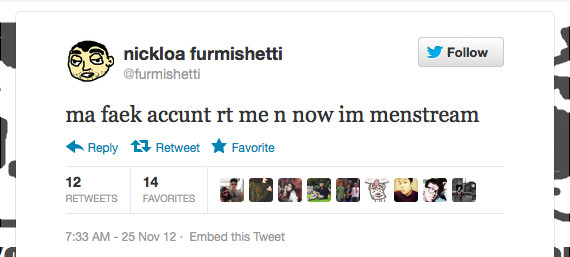 The Fake Nicola Formichetti Twitter is Amazing