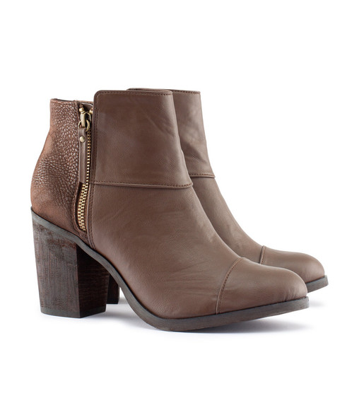 Brown Ankle Boots - Cr Boot