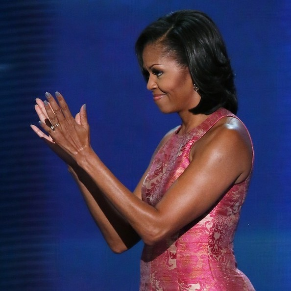 Get the Look: Michelle Obama's Democratic National Convention Manicure