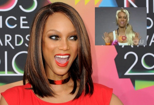 Tyra Banks Pokes Fun at 'America's Next Top Model' Contestants