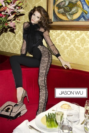 Stephanie Seymour Fronts Jason Wu's Ad Campaign, Looks Hot