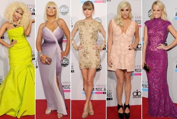 Best & Worst Dressed - American Music Awards 2012