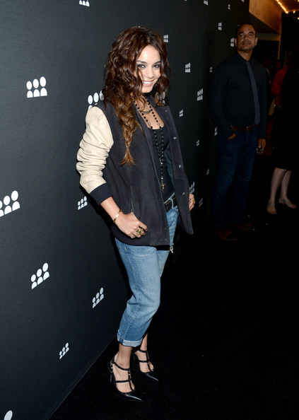 Vanessa Hudgens Bought Her Jacket in the Men's Department, Looks Super Cute