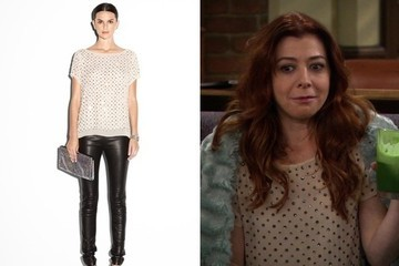 Alyson Hannigan's Rhinestone Blouse on 'How I Met Your Mother'