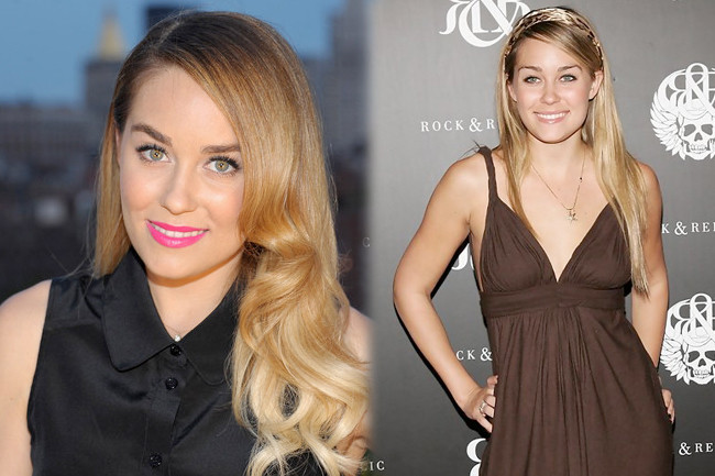 Fashion Flashback: Lauren Conrad Then & Now