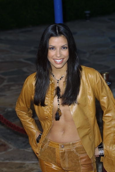 Eva Longoria's Leather Lovin' Look (2001)