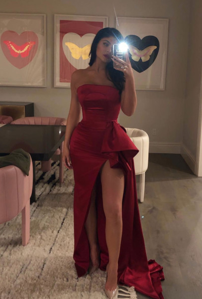 Kylie Jenner Post-Pregnancy Outfit: February 2019