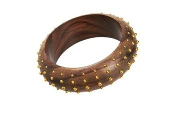 StyleBistro STUFF: Rosewood & Brass Bangle