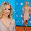 Kristen Bell's Muted Bandage Dress in 2010
