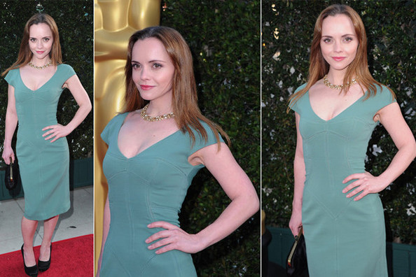 Look of the Day: Christina Ricci in Dolce & Gabbana