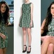 Shenae Grimes's Emerald Lace Dress on '90210'