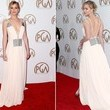 Look of the Day, January 26th: Jennifer Lawrence's Plunging Gown