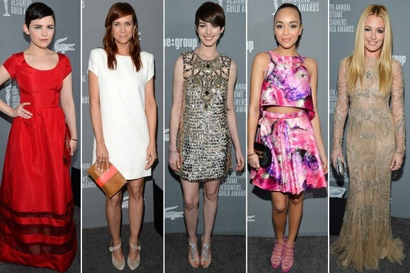Costume Designers Guild Awards 2013 - Best & Worst Dressed
